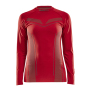 Craft Pro Control seamless jersey ls wmn bright red xxl