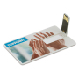 USB stick 2.0 card 8GB wit