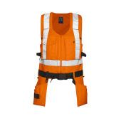 PROJOB 6704 VEST HV ORANGE XL