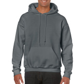 Gildan Sweater Hooded HeavyBlend for him Charcoal XXL