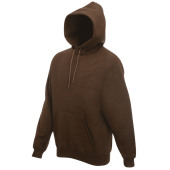 Classic hooded sweat (62-208-0) chocolate xxl