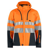 PROJOB 6419 3 LAYER JACKET HV ORANGE/BLACK XS