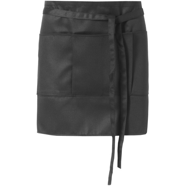 Lega short apron with 3 pockets