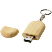 Oval wooden USB