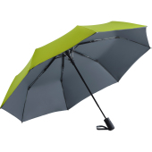 AC mini umbrella FARE®- Doubleface - lime/grey