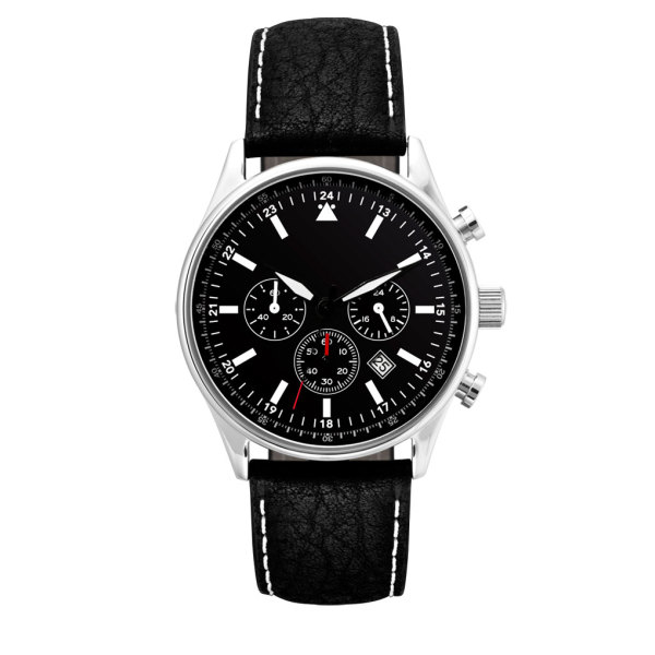 Horloge Perth chrono black