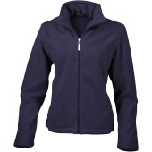 Womens micro fleece jacket navy xl (16 uk)
