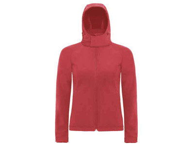 Hooded softshell women