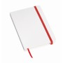 A6-notitieboekje AUTHOR - rood, wit