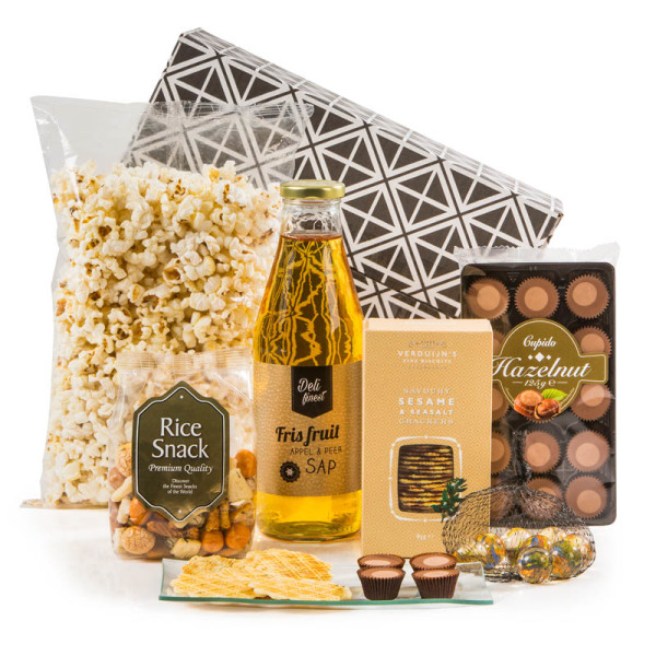 Kerstpakket Golden Serve