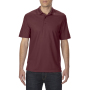 Gildan Polo Performance Double Pique SS for him maroon M
