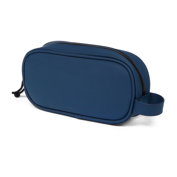 Norländer Dull PU Cosmetic Bag Blue