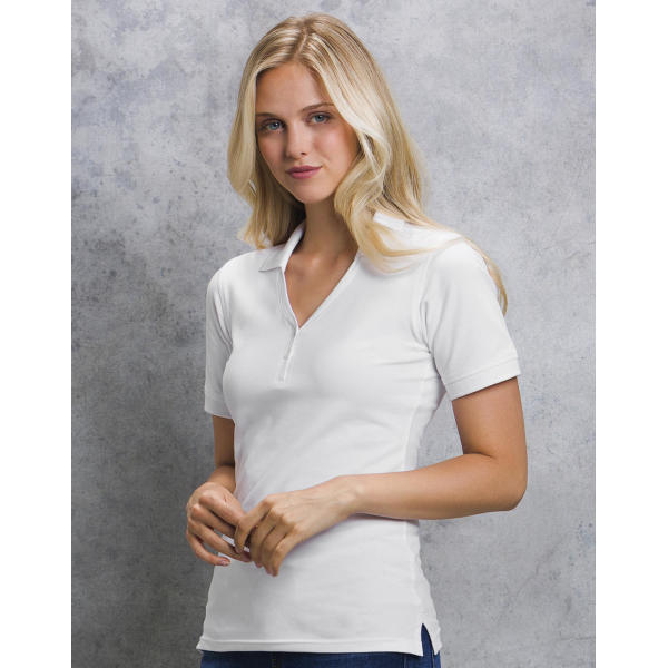 Women's Regular Fit Comfortec® V Neck Polo