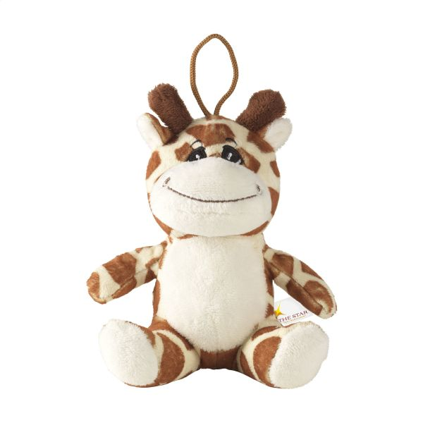 Animal Friend Giraffe cuddle