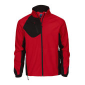 2422 softshelljacket men red XL