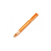 Balpen S40 Grip Clear transparant - Transparant Oranje