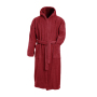 Bath Robe Hooded dieprood