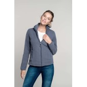 Maureen - fleece damesvest met rits