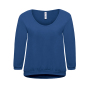 3/4 Sweat Rising Sun Women M Pacific Deep Blue