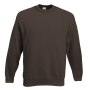 Premium Set-In Sweat, Chocolate, XXL, FOL