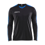 Craft Progress contrast jersey LS men black/royal xs