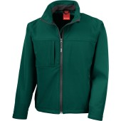 Classic softshell jacket bottle green xl