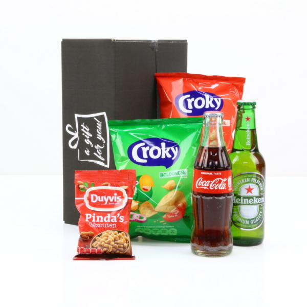 Cola, Bier en snacks