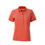 Ladies' Polo grenadine/wit