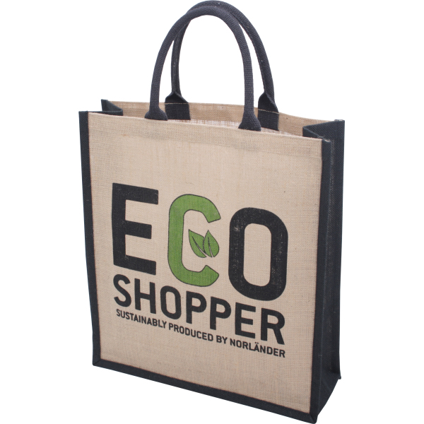"Jute Eco Shopper ""ECO Large"""