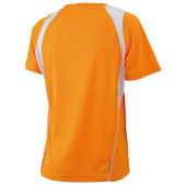 Ladies' Running-T - oranje/wit