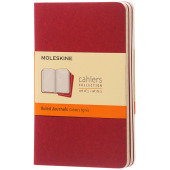 Cahier Journal PK - gelinieerd - Cranberry rood