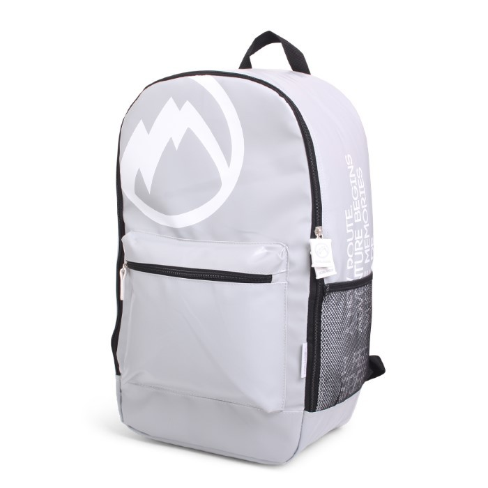 "Norländer ""I Am Free"" Backpack Grey"