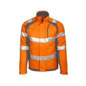 6409 LINED JACKET HV ORANGE XXL
