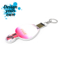 USB Stick Shape Insert 4GB - wit