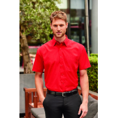 Mens Short-Sleeve PolyCotton Poplin shirt