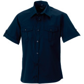 Men's roll sleeve shirt - short sleeve