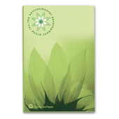 50 mm x 75 mm 25 Sheet Adhesive Notepads ECO Recycled paper