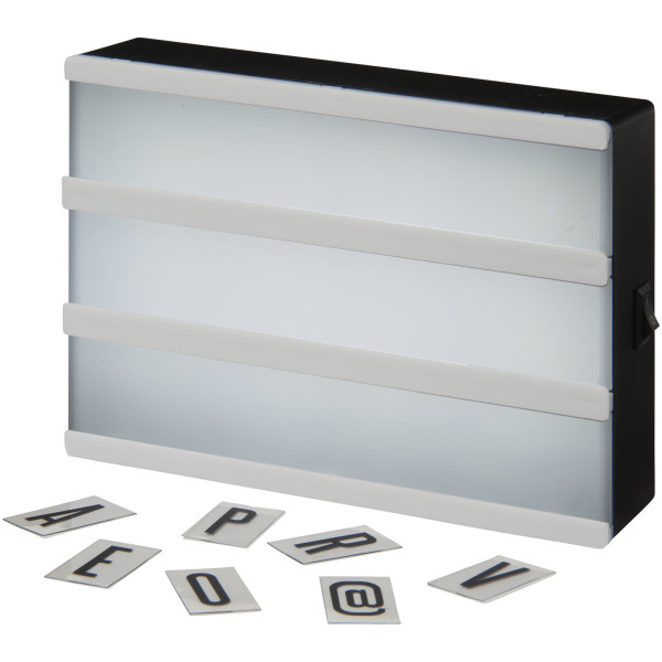 Cinema decoratieve lightbox Medium