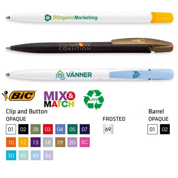 Bic Media Clic Ecolutions balpen