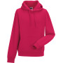 Authentic hooded sweatshirt fuchsia '3xl