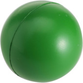 Anti-stress bal van PU foam. groen