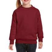 Gildan Sweater Crewneck HeavyBlend for kids Garnet XS