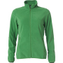 Clique Basic Micro Fleece Jacket Ladies appelgroen m
