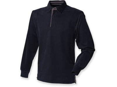 Supersoft long sleeved rugby shirt