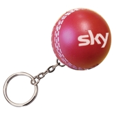 Anti-stress cricket bal sleutelhanger