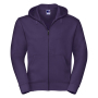 Authentic Zipped Hood, Purple, 3XL, RUS
