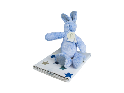 Baby Blue Bed Giftset