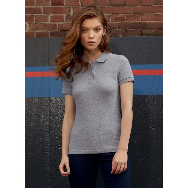 Ladies' organic polo shirt