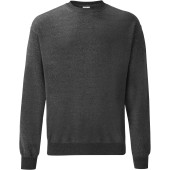 Classic set-in sweat (62-202-0) dark heather grey xxl