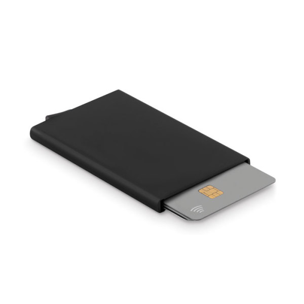 SECURPUSH - Aluminium RFID card holder